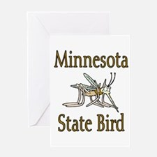 Minnesota State Bird Greeting Card