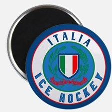 IT Italia Italy Ice Hockey Magnet