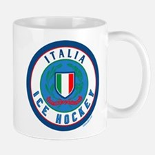 IT Italia Italy Ice Hockey Mug