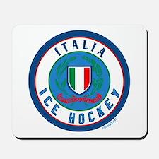 IT Italia Italy Ice Hockey Mousepad