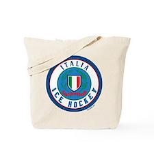 IT Italia Italy Ice Hockey Tote Bag