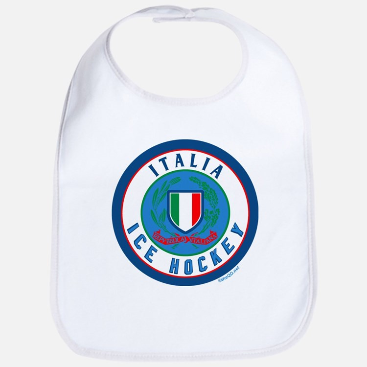 IT Italia Italy Ice Hockey Bib