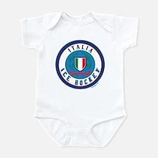 IT Italia Italy Ice Hockey Infant Bodysuit