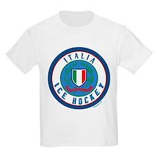 IT Italia Italy Ice Hockey T-Shirt