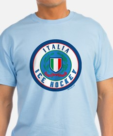 IT Italia Italy Ice Hockey T-Shirt