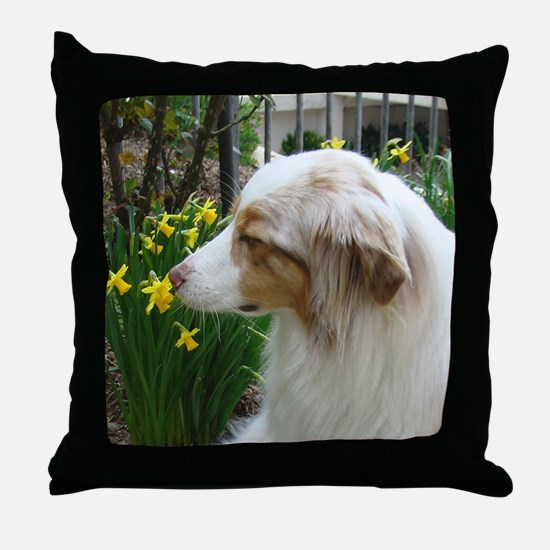 Unique Aussie dog Throw Pillow