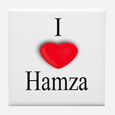 Hamza Tile Coaster