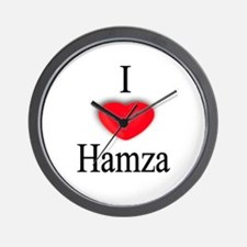 Hamza Wall Clock