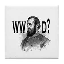 What Would Jackson Do? Tile Coaster