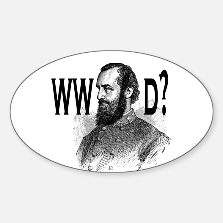 What Would Jackson Do? Sticker (Oval)