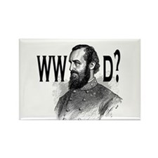 What Would Jackson Do? Rectangle Magnet