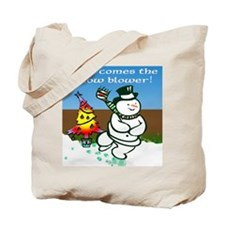 Naughty Frosty Tote Bag