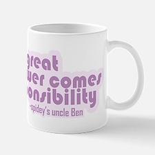 """With Great Power..."" Mug"