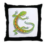 Lounge Lizard Throw Pillow