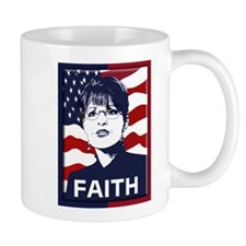 Sarah Palin Faith Mug