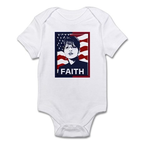 Sarah Palin Faith Infant Bodysuit