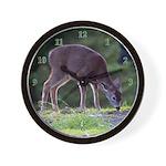 Little Fawn Wall Clock