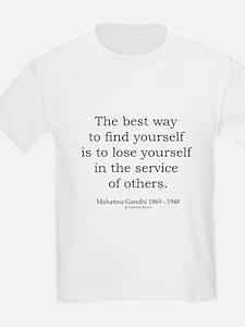 Mahatma Gandhi 24 T-Shirt