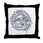 Lovers Moon Throw Pillow