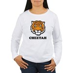 Cheetah Women's Long Sleeve T-Shirt