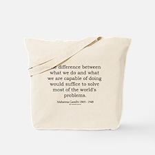 Mahatma Gandhi 25 Tote Bag
