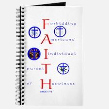 Forbiddin' Faith Journal