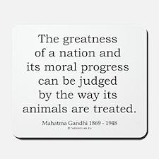 Mahatma Gandhi 26 Mousepad