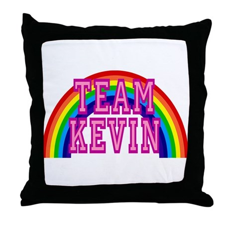 Team Kevin Throw Pillow