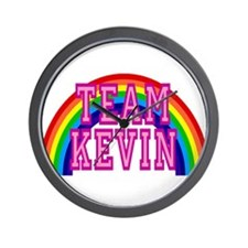 Team Kevin Wall Clock