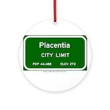 Placentia Ornament (Round)
