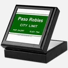 Paso Robles Keepsake Box
