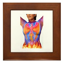 Phoenix Rising Framed Tile