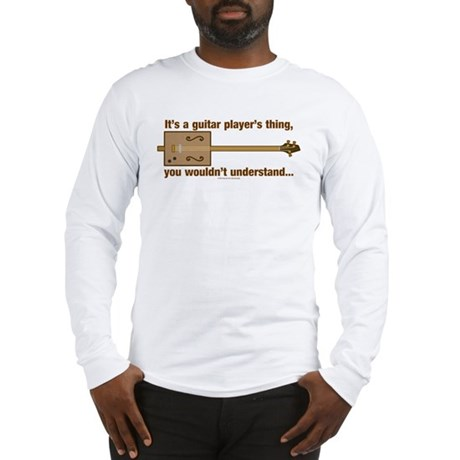 Cigar Box Guitar Long Sleeve T-Shirt