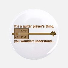 "Cigar Box Guitar 3.5"" Button"