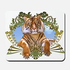 Rawr! Cool Tiger Art Mousepad
