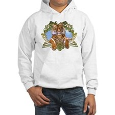 Rawr! Cool Tiger Art Hoodie