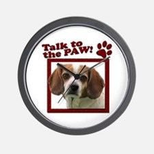 Talk to the Paw! Wall Clock