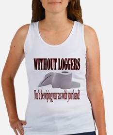 Without Loggers Women's Tank Top
