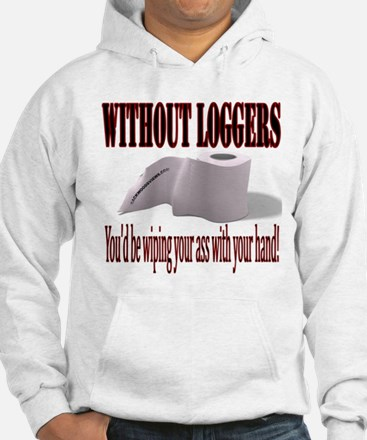 Without Loggers Hoodie