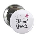 "Cute 3rd Grade 2.25"" Button"