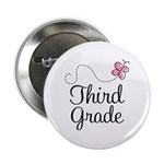 "Cute 3rd Grade 2.25"" Button (10 pack)"