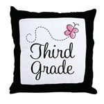 Cute 3rd Grade Throw Pillow