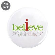 "i believe 3.5"" Button (10 pack)"