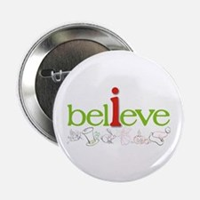 """i believe 2.25"""" Button (10 pack)"""