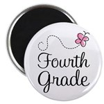 Butterfly Fourth Grade Magnet