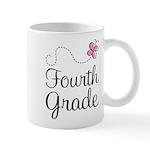 Butterfly Fourth Grade Mug