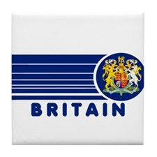 Britain Vintage Tile Coaster