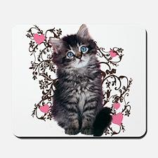 Cute Kitten Kitty Cat Lover Mousepad