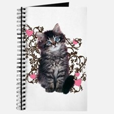Cute Kitten Kitty Cat Lover Journal