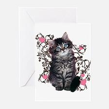 Cute Kitten Kitty Cat Lover Greeting Cards (Pk of